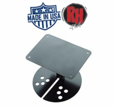 Rock Hard 4x4 Jeep Vehicle License Plate Relocation Bracket