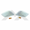 RT-Offroad Clear Sidemarker Lamp Kit for 1997-2006 Wrangler TJ