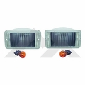 RT-Offroad Clear Parking Lamp Kit for 1997-2006 Wrangler TJ