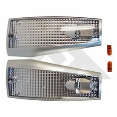 RT-Offroad Clear Side Marker Light Kit for 1984-1996 Cherokee XJ