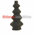 Rubber Accelerator Pedal Rod Dust Boot Fits 1941-1971 Jeep & Willys Models