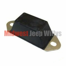 Axle Bump Stop for All 1941-1975 4WD Willys and Jeep Models, Fits Front or Rear