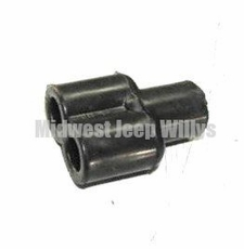 Rubber Shell Female Y Connector, MS27147-1
