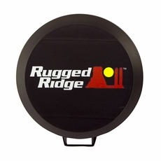 6-Inch HID Off Road Light Cover, Black by Rugged Ridge