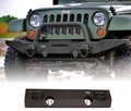 XHD Non-Winch Mount Front Bumper, 07-17 Jeep Wrangler by Rugged Ridge