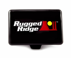 5-Inch x 7-Inch Rectangular Off Road Light Cover, Black by Rugged Ridge