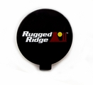 6-Inch Off Road Light Cover, Black by Rugged Ridge