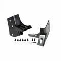 Windshield Auxiliary Light Mounting Brackets, 97-06 Jeep Wrangler by Rugged Ridge