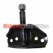 Upper Shock Mount Bracket, Front or Rear, Fits 1945-1975 CJ2A, CJ3A, CJ3B, CJ5, CJ6, M38, M38A1