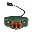 Side Clearance Marker Light, Amber Lens with Military Green Housing, 24 Volt, NSN# 6220-00-577-3434