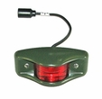 Side Clearance Marker Light, Red Lens with Military Green Housing, 24 Volt, NSN# 6220-00-726-1916