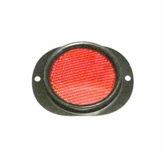 Side Marker Reflector with Red Lens for Military Vehicles & Trailers, MS35387-1