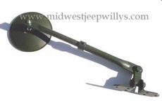 Side View Mirror Assembly (head & arm) 1941-45 MB, GPW  WO-A2934
