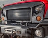 Spartan Grille, 07-15 Jeep Wrangler JK by Rugged Ridge