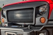 Spartan Grille, 07-17 Jeep Wrangler JK by Rugged Ridge