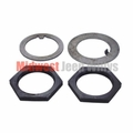 Spindle Nut & Washer Kit , All 4WD Dana 23-2, 25 & 27 Axles