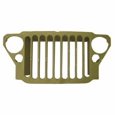 Stamped 9 Slot Grille, 1941-45 Willys MB and Ford GPW