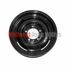"""Steel Civilian Wheel Rim 16"""" for All 4WD Willys Vehicles 1941-1971"""