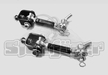 Steinjager Quick Disconnect Front Sway Bar Link Kit, Stock Height, fits 1997-2006 Jeep Wrangler TJ