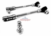 "Steinjager Quick Disconnect Rear Sway Bar Links, 2.5""-5"" Lift, fits 2007-2015 Jeep Wrangler JK"
