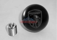 Steinjager Transmission Shift Knob with Steinjäger shield engraved on the knob., fits 1997-2006 Jeep Wrangler TJ