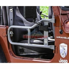 Steinjager Tube Door Kit, Black in Color, fits 1997-2006 Jeep Wrangler TJ