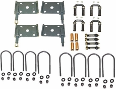 Suspension Hardware Kit Fits 41-58 MB, GPW, CJ2A, CJ3A, CJ3B, M38, CJ5