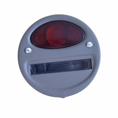 Tail Light Assembly, Left Side Service, 6 Volt, Fits WWII 1/4 Ton, M100 Trailer