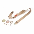 Tan 60 Inch Front or Rear Lap Seat Belt, 1987-95 Jeep Wrangler