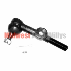 Tie Rod End, Center with Hole, Left Thread, CJ2A, CJ3A, CJ3B, DJ3A, CJ5, CJ6