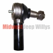 Replacement Tie Rod End, Left Hand Thread, 3/4 inch Diameter, fits 1950-1966 Willys Jeep M38, M38A1