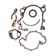 Timing cover gasket set w/ oil seals, 1971-91 8 cyl all