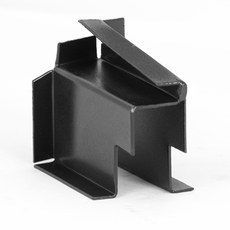 Top Bow Bracket, Left Front, fits CJ2A, CJ3A, CJ3B, DJ3A