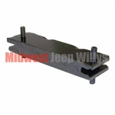 Transmission / Transfer Case Insulator Mount for 4 Cyl. Engine, fits Jeeps with T-84, T-90 and T-86A Transmission