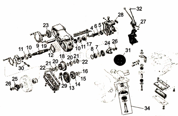 Showthread additionally Clutch Linkage as well Frontaxle further HP PartList likewise 9097CH07 Axle Shafts and Seals. on 1972 jeep kaiser