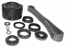 Viscous Coupling & Seal and Chain Kit For 1993-1996 ZJs w/ 249 transfer case