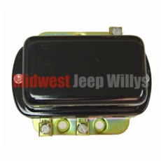 12 Volt Voltage Regulator, Fits 1957-1966 Jeep CJ's & Willys Truck, Station Wagon & FC Models
