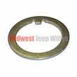 Spindle Flat Style Washer, Front Wheel Bearing for 4WD Dana Spicer Axle Model 25 & 27