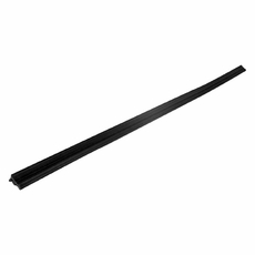 1) Window Glass Weatherstrip, Outer Left Front, 1984-1996 2 Door Jeep Cherokee XJ