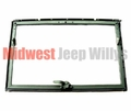Windshield Glass and Frame Assembly for Dodge M37, M35A2, M35A3, M54A2, M809 Series Trucks, 7005417