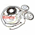 willys jeep oem type wiring harnesses for cj2a cj3a cj3b cj5 complete plastic covered wiring harness kit for 1957 1964 willys jeep cj3b models