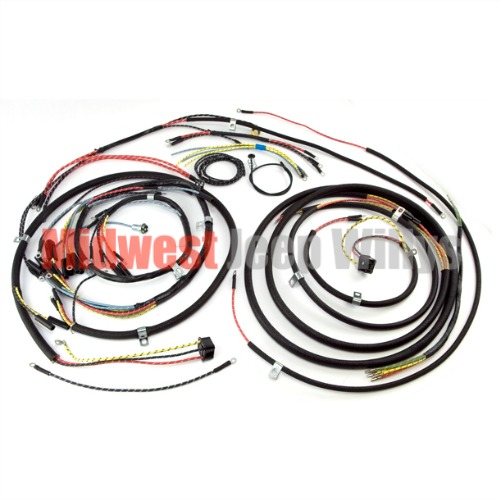 willys wiring harness willys image wiring diagram jeep part 645743t wiring harness kit turn signal wiring for on willys wiring harness