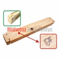 """Reproduction Wood Filler for Front Bumper, Fits 1941-1945 Ford GPW """"F"""" Marked"""