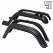 4 Piece Factory-Style Replacement Fender Flare Kit, fits 1987-95 Jeep Wrangler YJ