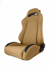 Sport Front Seat, Reclinable, Spice, 76-02 Jeep CJ and Wrangler by Rugged Ridge
