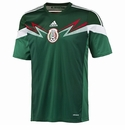 adidas Mexico 2014 World Cup Youth Home Jersey