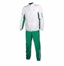 Pirma Leon Training Suit - White/Green