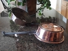Decorative, Rustic, Large Copper Pan from Copper Proper
