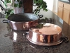 Large Copper Pan, two handles - Copper Proper Kitchen Collection