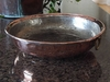 Large, Rustic, Distressed Strainer  - Copper Proper Kitchen Collection